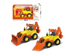 Friction Construction Truck W/L_M(2S) toys