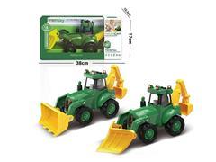Friction Farmer Truck W/L_M(2S) toys