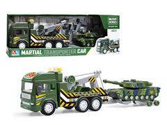 Friction Military Truck W/L_M toys