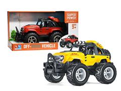 Friction Cross-country Car W/L(2C) toys