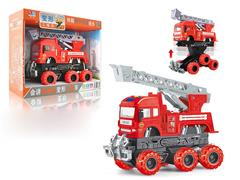 Friction Story Telling Fire Truck W/L toys