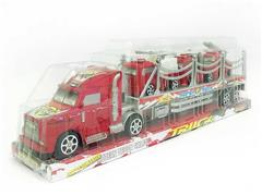 Friction Truck Tow Free Wheel Fire Engine(2C) toys