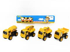 Friction Construction Truck(4in1) toys