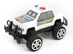 Friction Cross-country Police Car toys