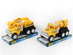 Friction Construction Truck(2S) toys