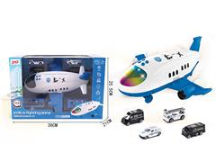 Friction Storage Aircraft Police Series toys