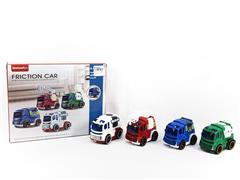 Friction Car(4in1) toys