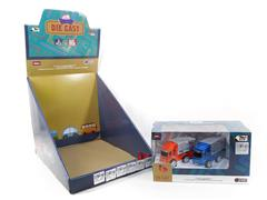 Die Cast Car Friction(6in1) toys