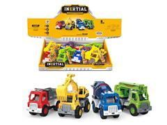 Friction Construction Truck(8in1) toys