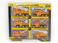 Friction Construction Truck(6in1) toys