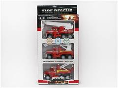 Friction Fire Engine(3in1) toys