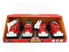 Friction Fire Engine(4in1) toys