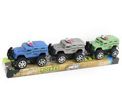 Friction Police Car(3in1) toys
