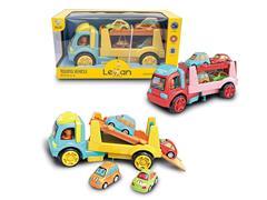 惯性双层拖头车载4只车