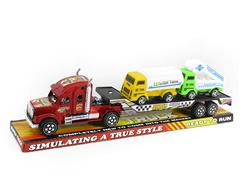 Friction Truck Tow Fire Engine(3C) toys