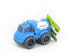 Friction Sanitation Truck toys
