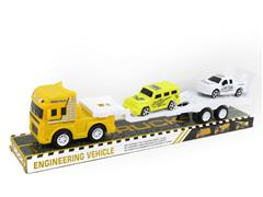 Friction Truck Tow Pull Back Cross-country Car toys
