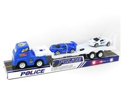 Friction Truck Tow Free Wheel Police Car toys