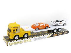 Friction Truck Tow Pull Back Sports Car toys