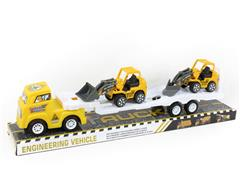 Friction Truck Tow Free Wheel Construction Truck toys