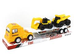Friction Truck Tow Construction Truck toys