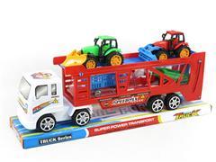 Friction Truck Tow Free Wheel Farmer Car toys