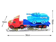 Friction Truck Tow Car