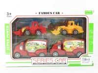 Free Wheel Farmer Truck Set