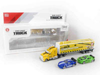 1:58 Metal Free Wheel Truck Set