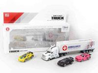 1:58 Die Cast Truck Set Free Wheel