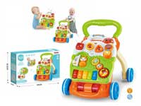 Infant toys baby walker set activity trolley toys
