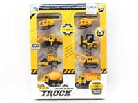Metal Free Wheel Construction Truck(8in1)