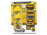 Die Cast Construction Truck Set Free Wheel(6in1) toys