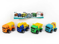 Free Wheel Construction Truck(4in1) toys