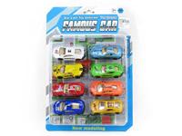 Die Cast Racing Car Free Wheel(8in1) toys