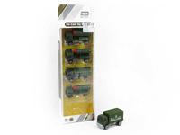 Die Cast Car Free Wheel(5in1) toys