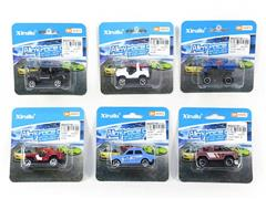 1:64 Die Cast Car Free Wheel(6S) toys