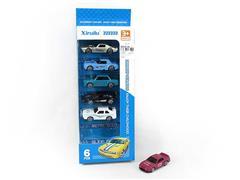 1:64 Die Cast Car Free Wheel(6in1) toys