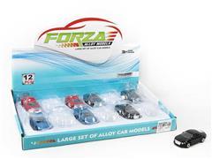 Die Car Free Wheel(12in1) toys
