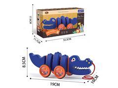 Drag Silent Croc toys