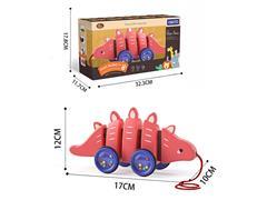 Drag Stegosaurus toys