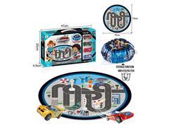 Die Cast Racing Car Free Wheel Set toys