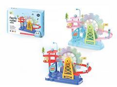 Free Wheel Railcar W/L_M toys