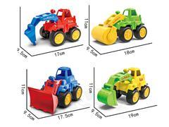 Free Wheel Construction Truck(4S) toys