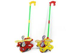 Push Plane W/Bell(2C) toys