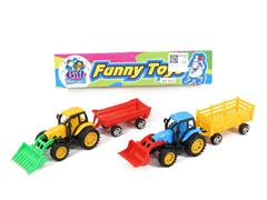 Free Wheel Farmer Truck(2in1) toys
