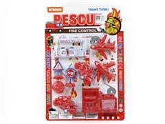 Free Wheel Fire Engine Set toys