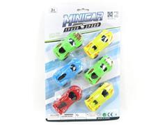 Free Wheel Car(6in1) toys