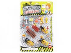 Free Wheel Construction Truck Set(2S) toys
