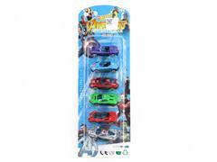 Die Cast Car Free Wheel(6in1) toys